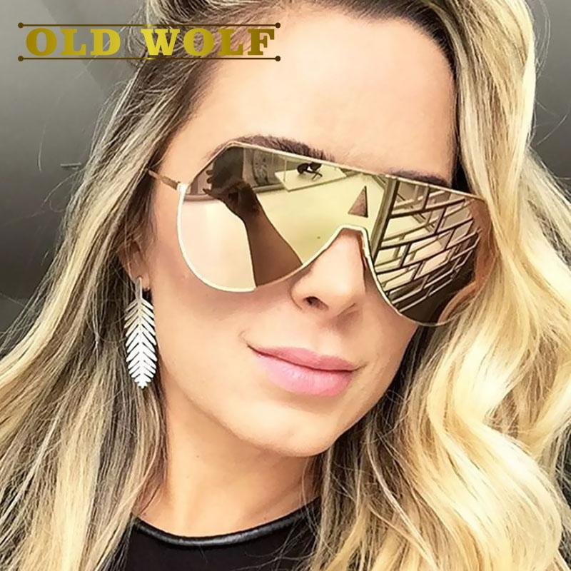 Gold rosa Sonnenbrille Stil weiblichen Accessoires Superstar abwehren stieg Wholesale- 2017 Mode Sonnenbrillen für Korpulenz Rahmen