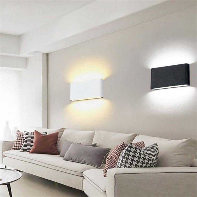 8W 14W LED Außenwandleuchte IP65 Wasserdichte Wandleuchte Gartenleuchten Führte Wandleuchte Up Down Beleuchtung Badezimmerlampe