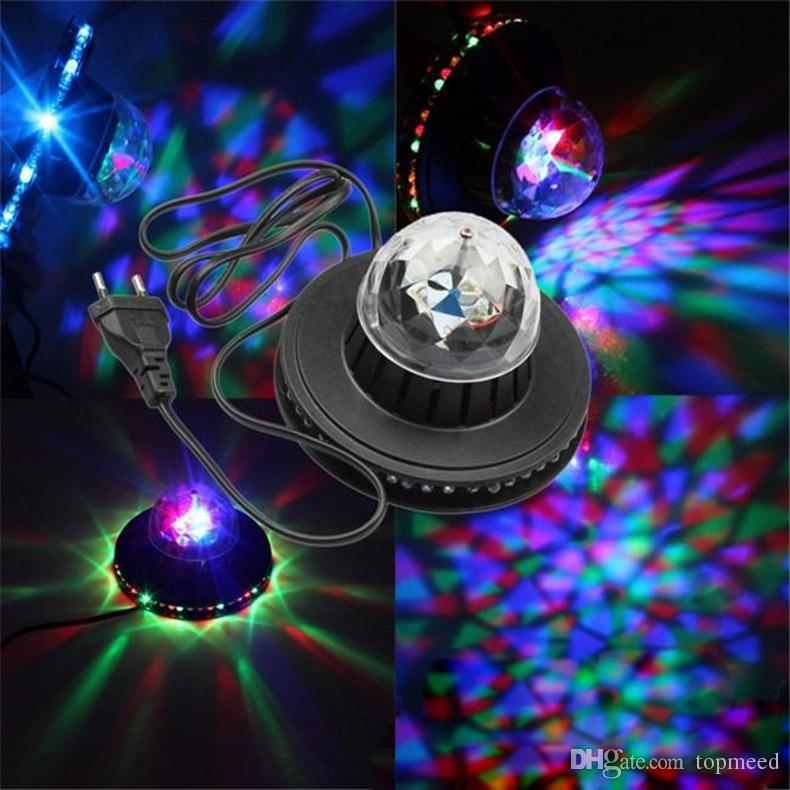 The new 2-in-one solar flying saucer bar revolving lamp stage lights KTV mini stage lights are selling well