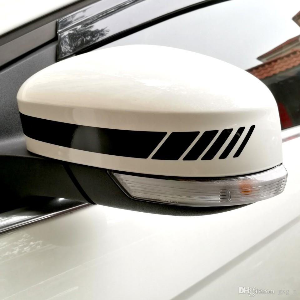 Yourart Espelho Retrovisor Adesivos Decor Vista Traseira Espelho de Vinil Adesivos de Carro e Decalques de Estilo Do Carro Para Mercedes Benz AMG GLK GLK
