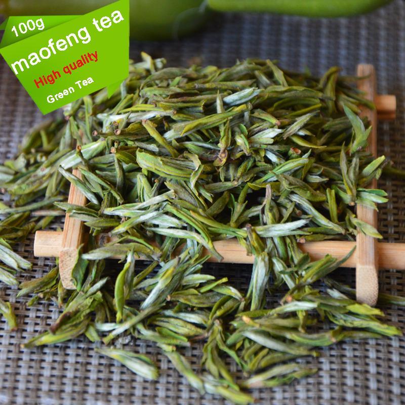 2021 Nuovo Tè verde 100G Organic New Primavera Early Spring Huangshan Maofeng Fragranza cinese davvero buon tè