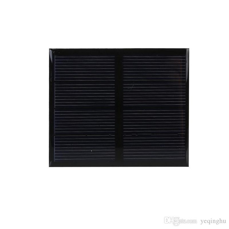 Hot 0.6W 2V Polycrystalline Epoxy Solar Panel Mini Solar Cell DIY Solar Module Education Kits Epoxy 82*70MM High Quality Free Shipping