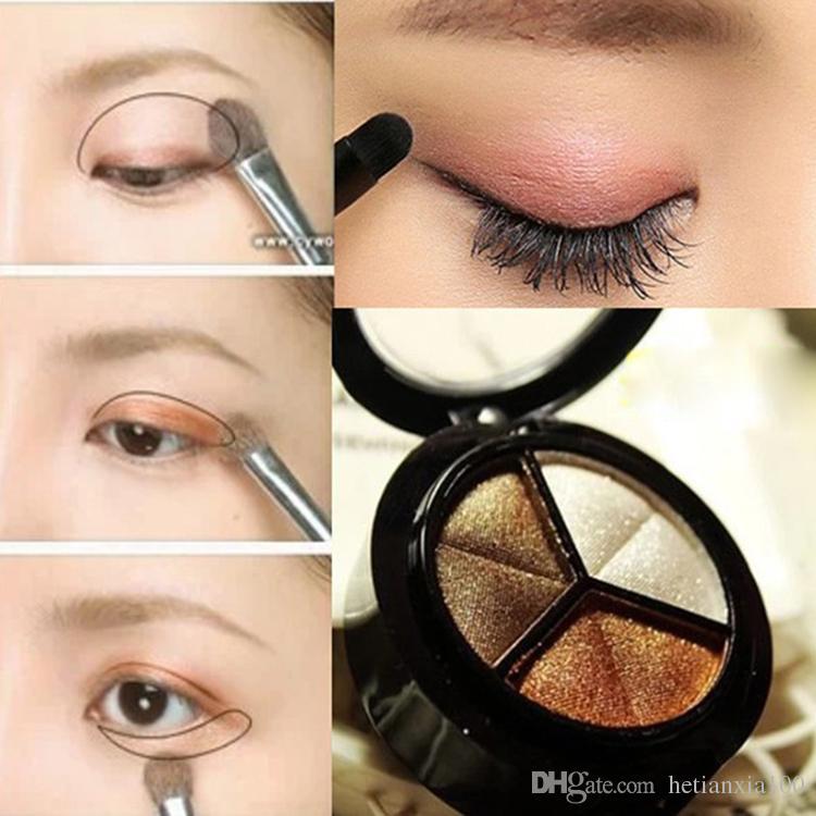 Trucco professionale set motorizzazione 3 caldo Colore Eye Shadow Palette Neutral nudo ombretto cosmetico all'ingrosso