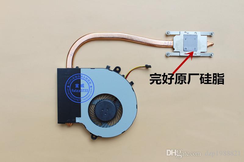 dispositivo di raffreddamento per Toshiba L50-B L55-B L50D-B L55T-B L55-B5267 dissipatore di calore con ventilatore