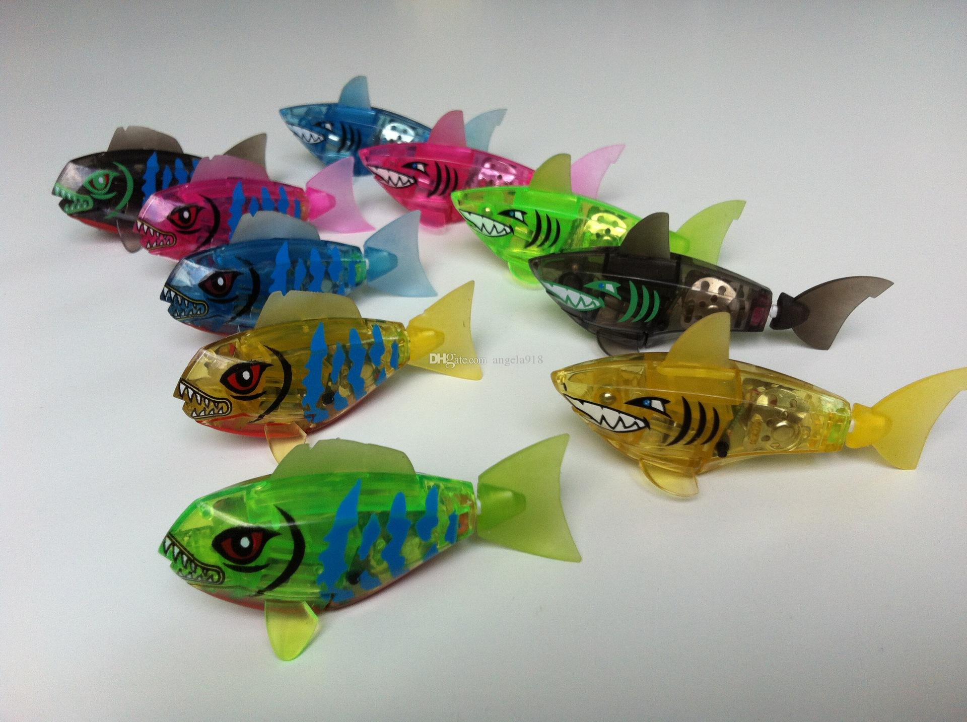 Baby fish Bath Toy kids cartoon shark Swimming toys children