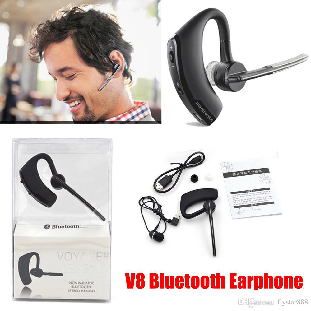 New Universal Business Headphones Handsfree Earphone Wireless Bluetooth Headset For Iphone 6 6s Plushtc Samsung Lg 8015 Hot Sale Headset For Cell Phones Wireless Cell Phone Headphones From Flystar888 8 17 Dhgate Com