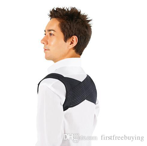 1 Pc/Lot High Quality Body Posture Support Corrector Back Bracer Band Pain Feel Young Belt Brace Shoulder for Men