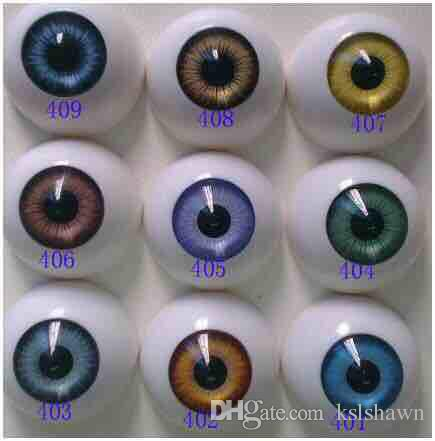 2020 Best selling Free shipping round shape lovely Fashion Doll eyes acrylic eyes bjd doll accesories reborn doll toys parts (8mm to 22mm)