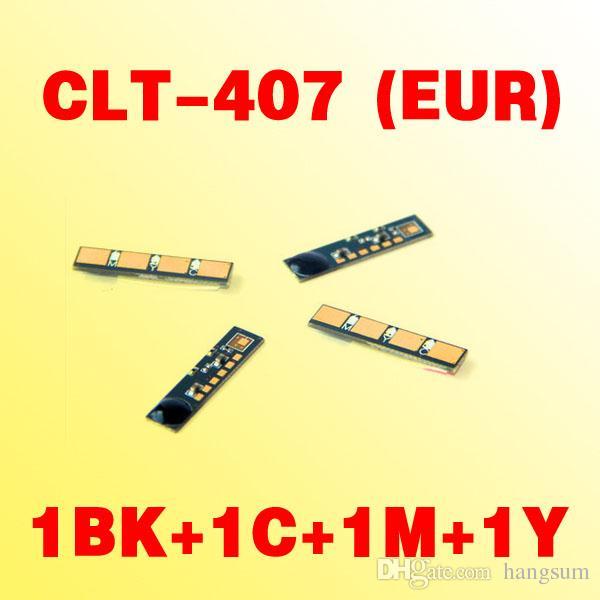 Puce de toner CLT-407 EUR (version Europe) compatible avec SAMSUNG CLP-320/325 / CLX-3180/3185 clt407
