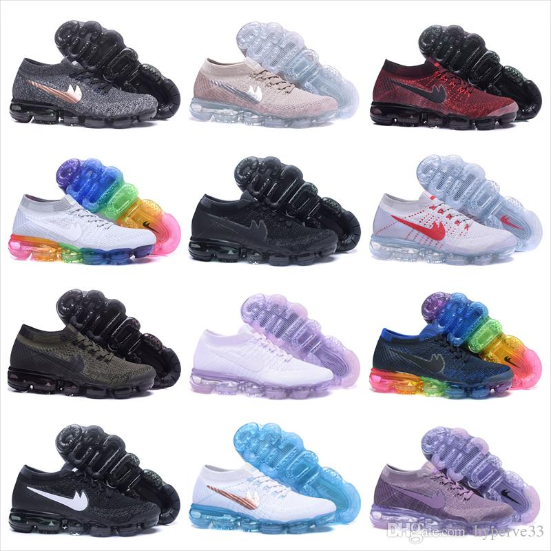 air cushion running shoes