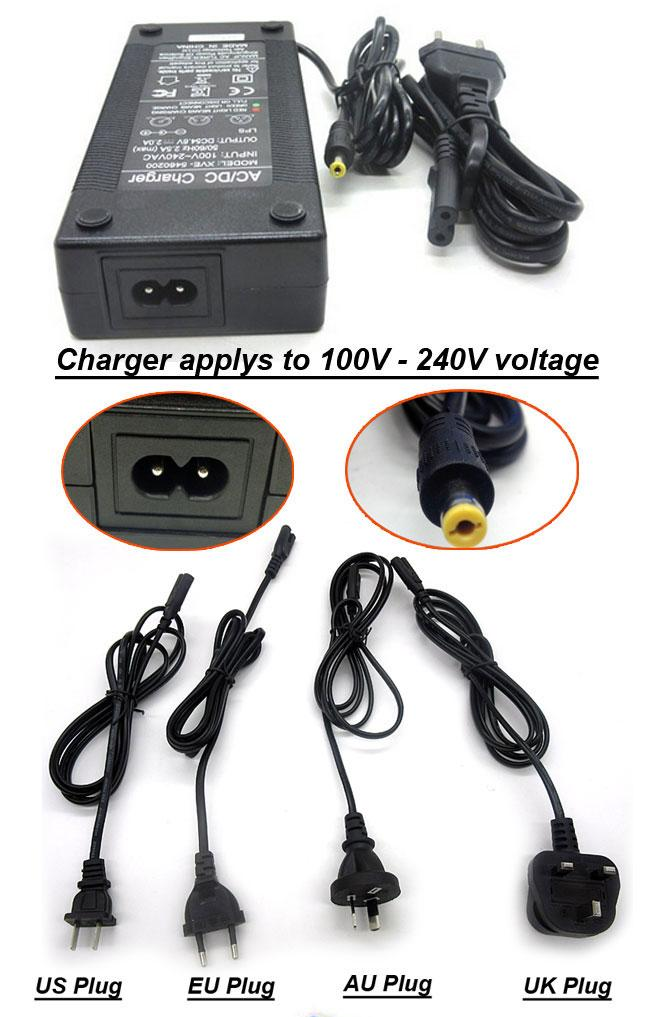 2A charger