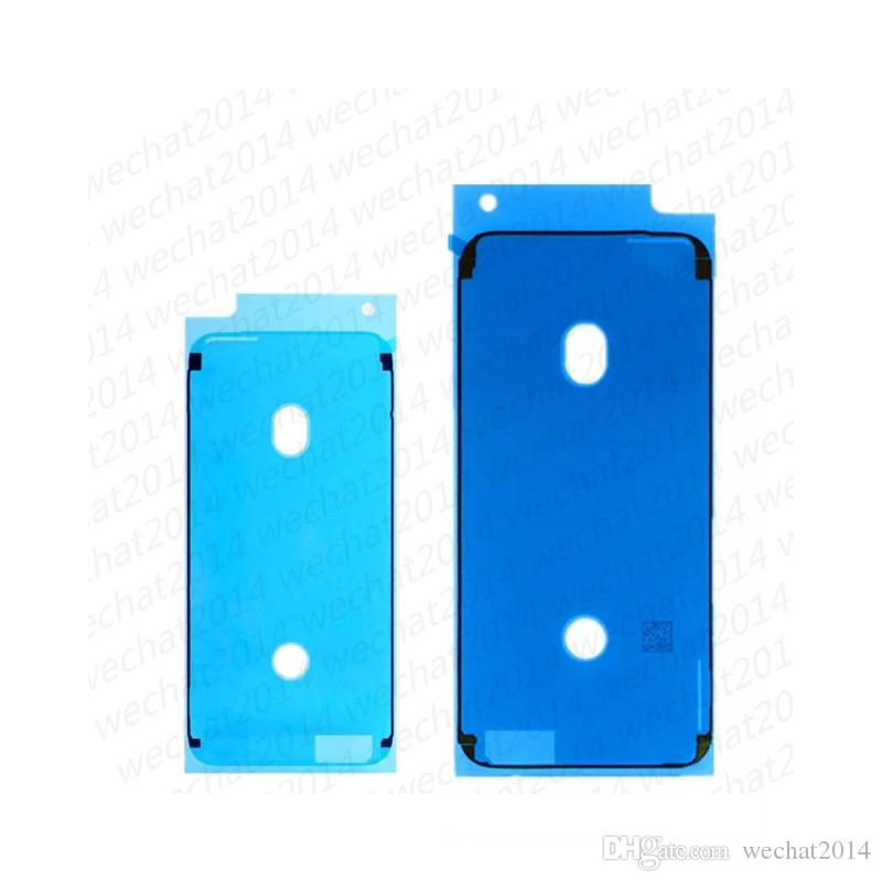 500PCS 3M قبل قطع لاصق مقاوم للماء الشريط الغراء لفون X 6 6S 7 8 زائد الجبهة الإسكان شاشة LCD ملصق الإطار