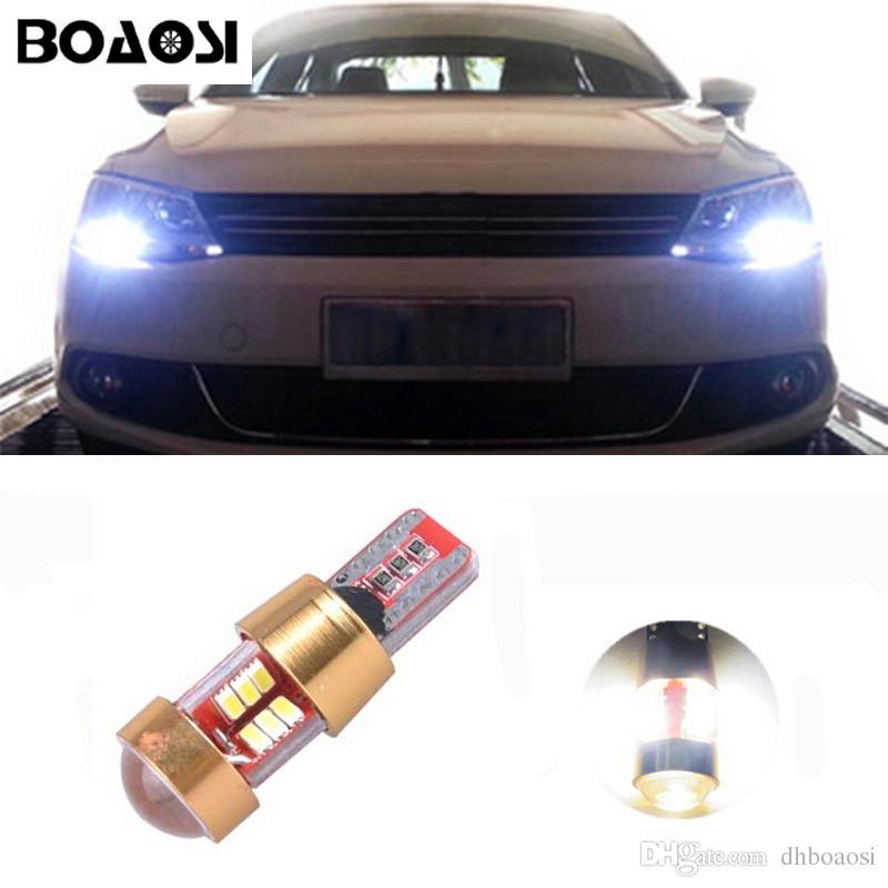 BOAOSI Voiture Canbus LED T10 W5W Dégagement Stationnement Lumières Coudées Pour VW Golf POLO 5 6 7 GTI Passat B5 B6 B7 Jetta Bora MK5 MK6 Tiguan Eos