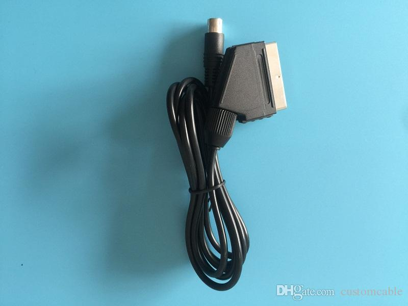 Rgb Scart Cable For Sega Genesis 2 Mega Drive Md 2 Pal Cable Fibre ...