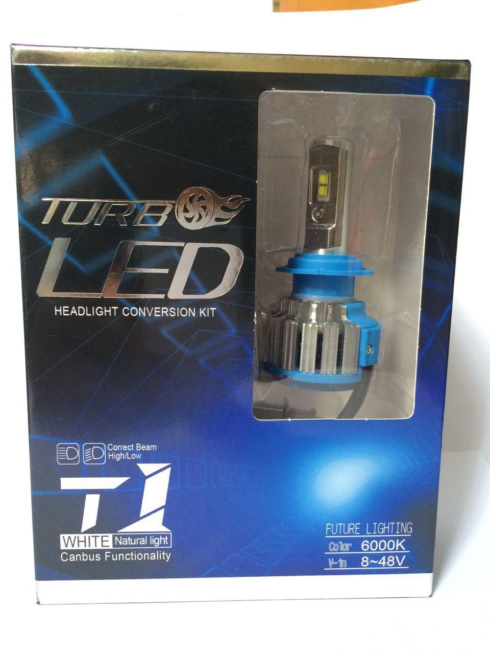 LED Headlight Conversion Kit H7 35W 3500LM Headlamp Replace HID Xenon Kit Auto Bulb Lamp Light