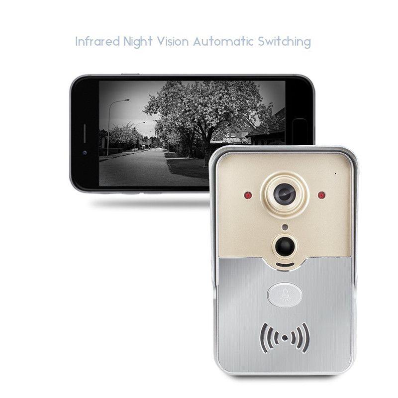 Großhandel Neue Wi Fi Smart Türklingel Kamera Pir Sensor ...