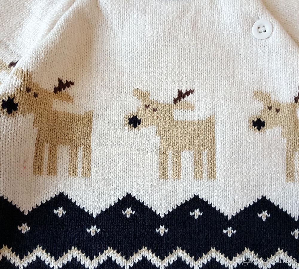 Compre Suéteres De Punto De Navidad Pullover Niños Niños Jersey De ...