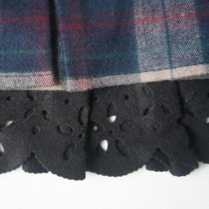 023d860963c05 New Spring Autumn Plaid Short Student Skirt Girls Fashion Plus Size High  Waist Pleated Mini School