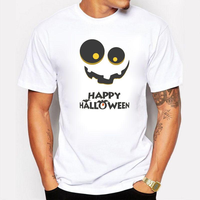 Traje Feliz Dia Das Bruxas Projeto Animal Engraçado Morcegos Criativo Impresso T-shirt Dos Homens Personalizado Casual Básico Tops Hipster Cosplay Tee