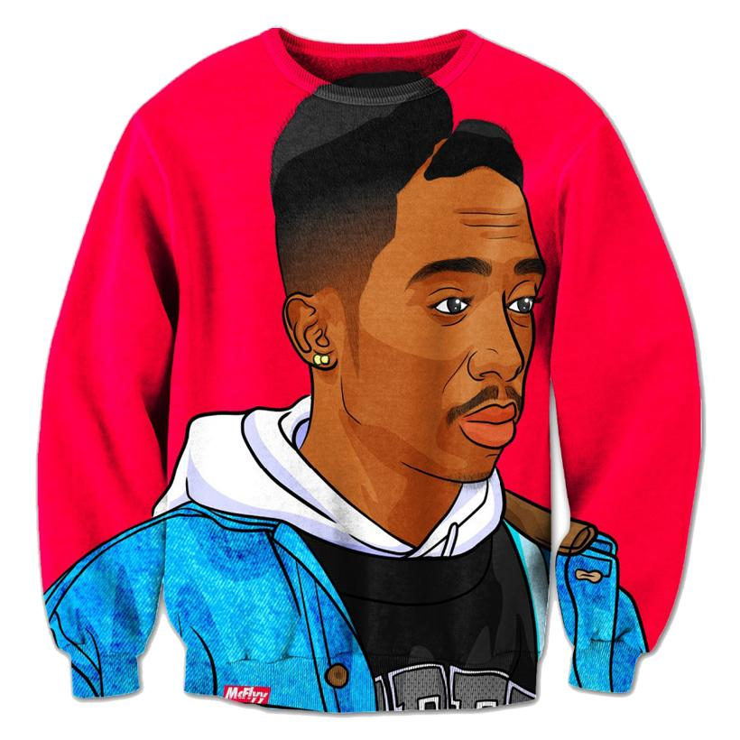 Wholesale-Alisister new fashion Tupac Thug Life 3D Sweatshirt 2pac hoodies for men/women print casual graphic hoodies harajuku sweatshirts