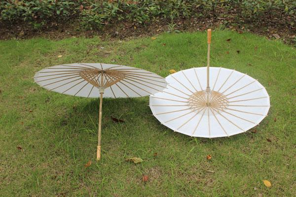 29a5583d75 2017 New White Paper Parasols Long Handle Elegant Chinese Craft Umbrellas  Wedding Favors Diameter 33 Inches From Dhgate_factory01, $299.5   Dhgate.Com