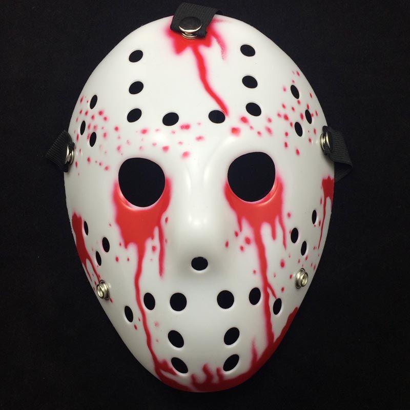 Yeni Kanlı Scream Korku Jason Maske Freddy Vs. Jason Katil Filmi Maske Tam Yüz Plastik Cosplay Performans Parti Kostüm