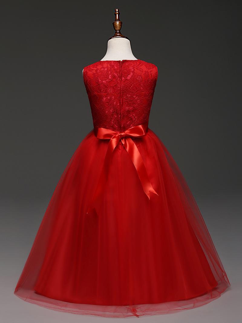 Großhandel Kid Hochzeit Blumenmädchen Kleid High-End Prinzessin ...