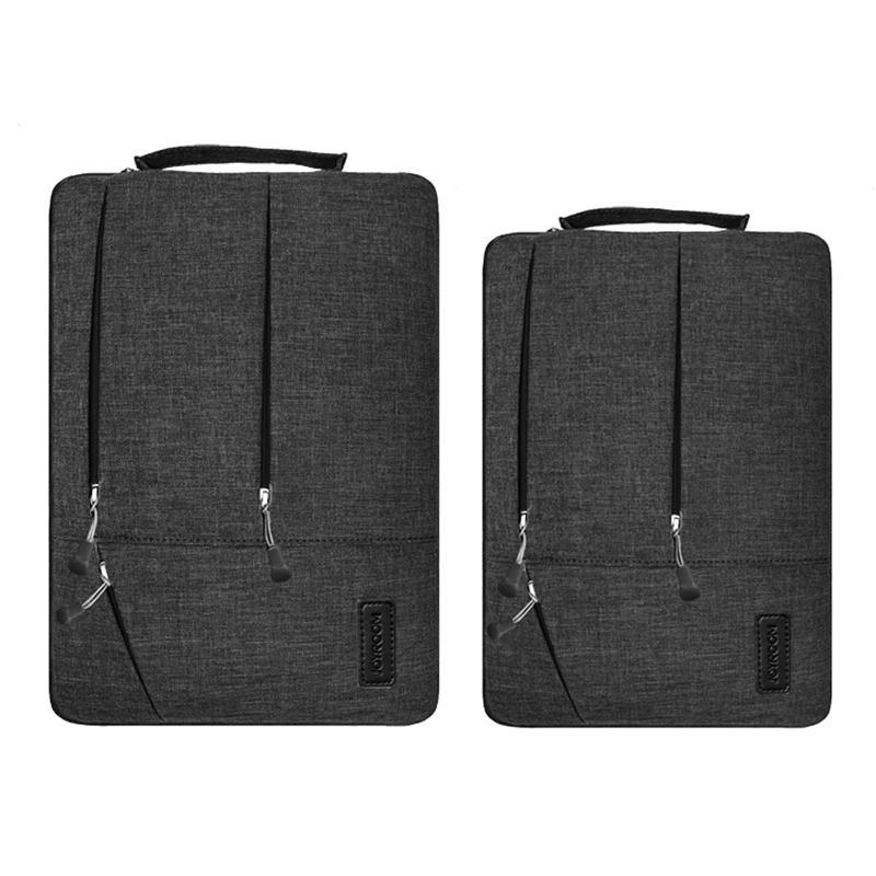 Joyroom محمول كم 13 15 بوصة نايلون الرجال محمول حقيبة ل macbook air pro 13 رقيق عارضة المرأة حالة تغطية الكمبيوتر المحمول حقيبة