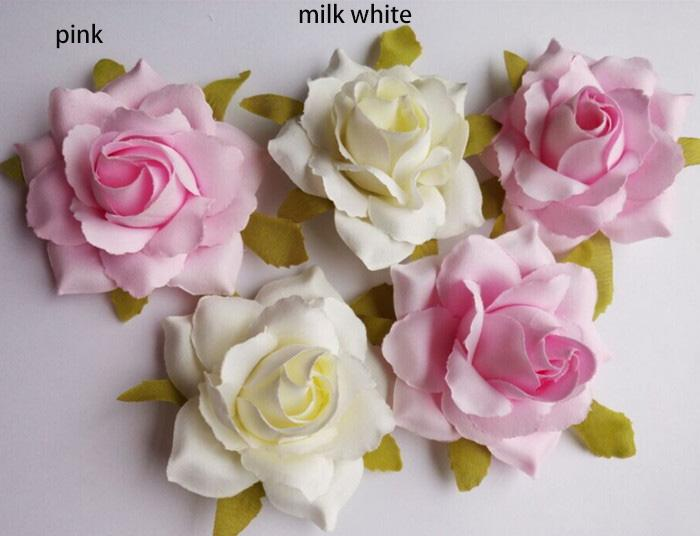 50PCS free shipping 11cm/4.3inch wholesale emulational silk small rose flower head for home,garden,wedding,or wall ornament decoration