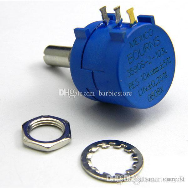 3590S-2-103L 10K Ohm BOURNS Rotary Wirewound Präzisions Potentiometer I1