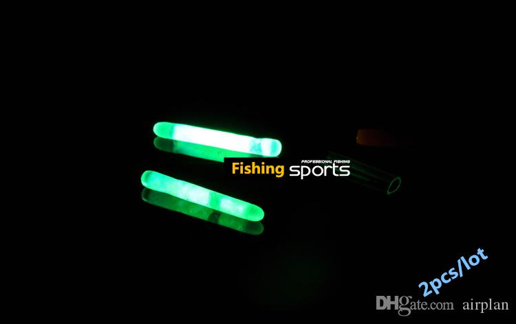 20pcs of Night Fishing Luminous Float Lights Stick Fishing Rod Tip Bait Alarm Dark Glow Stick Fishing Accessories Pesca Tackle