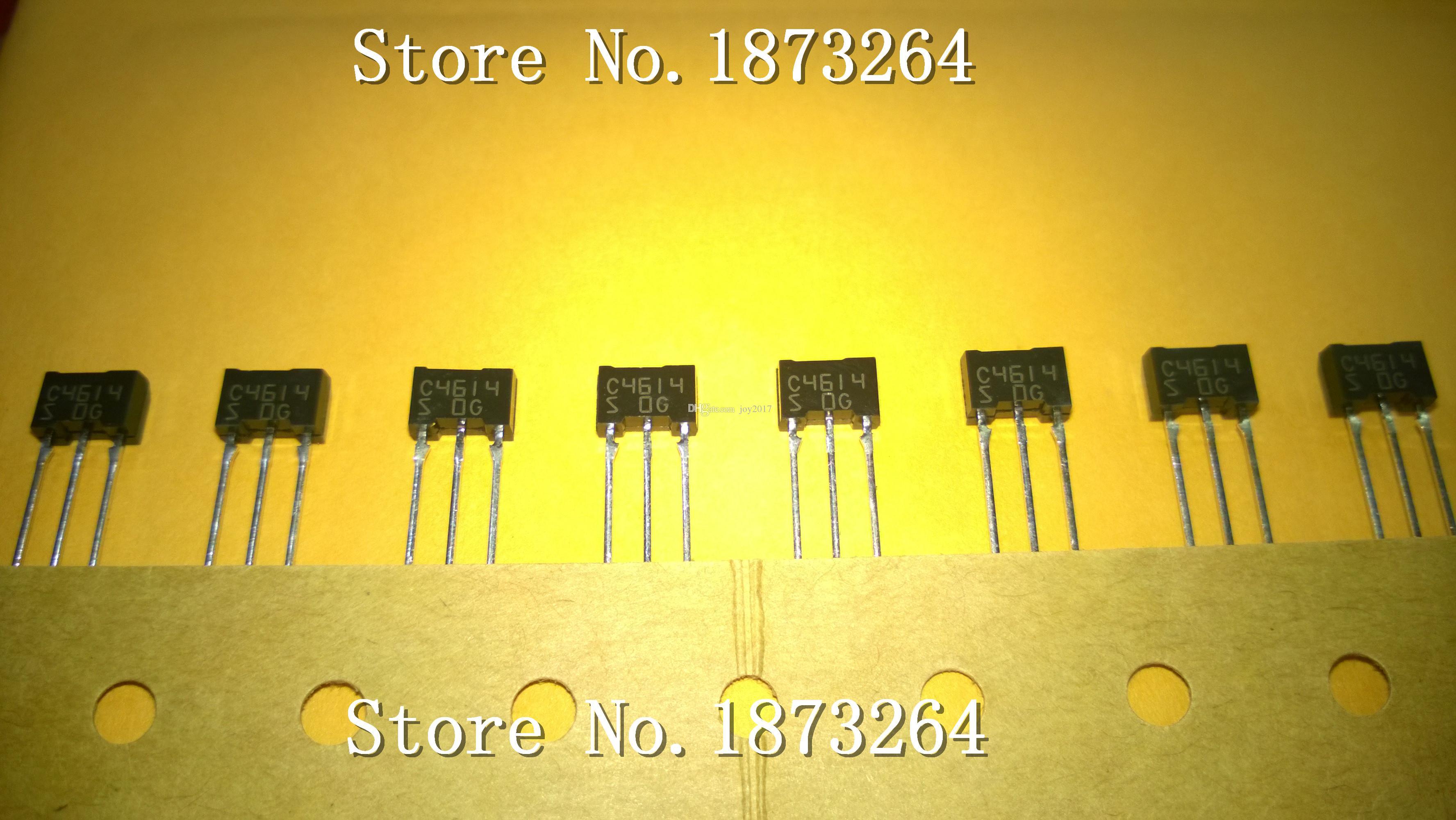 Ücretsiz Kargo 2SC4614S C4614 2SC4614 T0-92 Yeni ve orijinal 10 ADET / GRUP