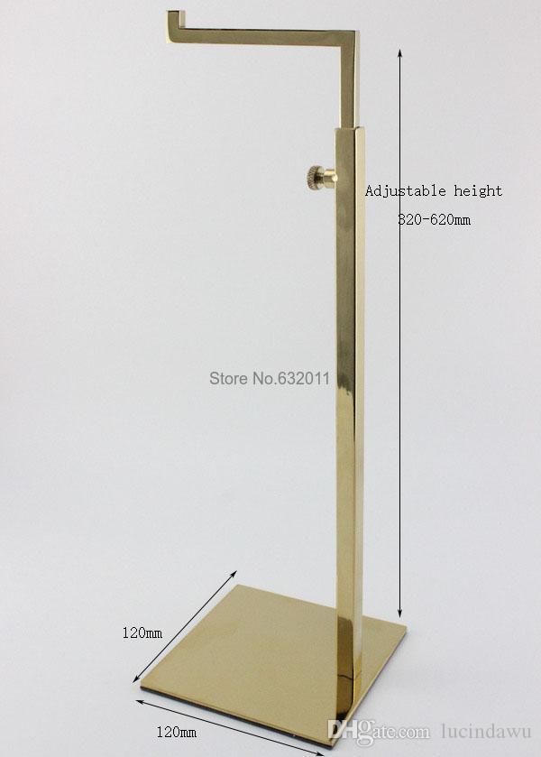Atacado Handbag Display Stand E Saco Titular Stand Bag Display Rack Handbag titular Display 10 pcs
