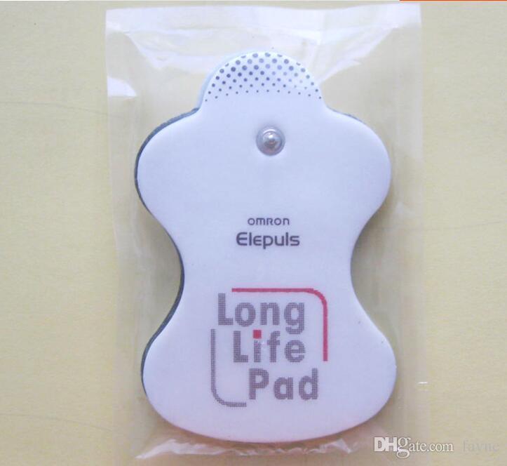 20 قطع منصات استبدال القطب الكهربائي ذاتية اللصق ل مساج اومرون Elepuls Long Life Pad 3.5 head 2.5mm hole
