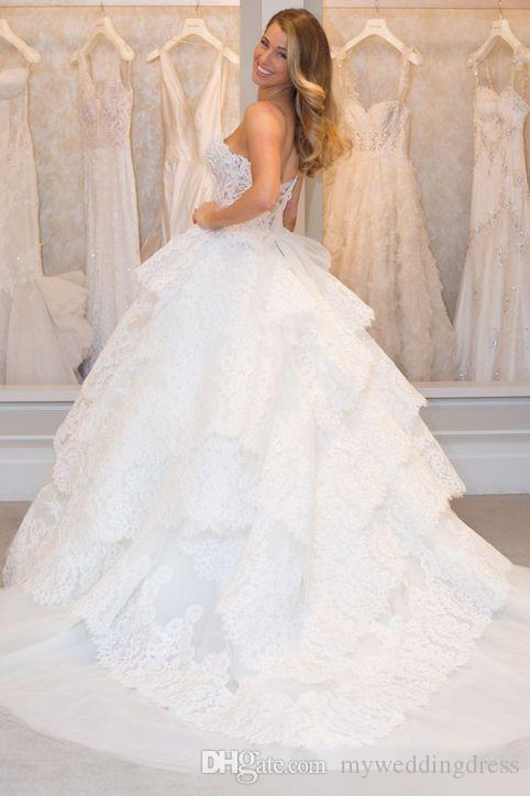 Glamour Magazine Pnina Tornai Lace vintage plus size wedding dresses ...
