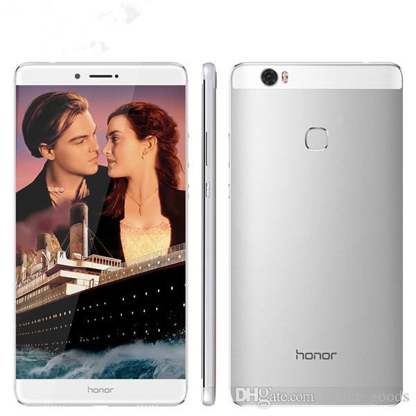 """원래 Huawei 명예 노트 8 4G LTE 휴대 전화 Kirin 955 옥타 코어 4GB RAM 64GB 128GB ROM 안드로이드 6.6 """"AMOLED 스크린 13.0MP OTG 지문 ID 4500mAh 스마트 휴대 전화"""