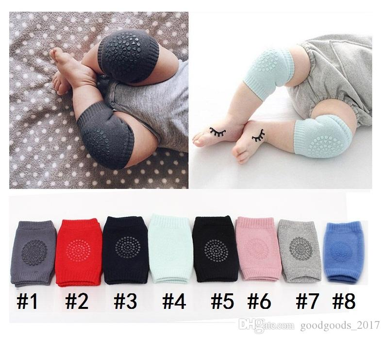 Baby crawling support safety outdoor knee pads for child Antislip cotton pad Leg calf compression kneecap cycling knee protector MK015