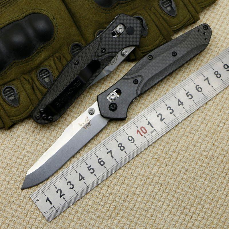 Медведь Clawquality супер легкий бабочка S90V оси складной нож CF ручка латунь шайба открытый кемпинг карман выживания EDC ножи