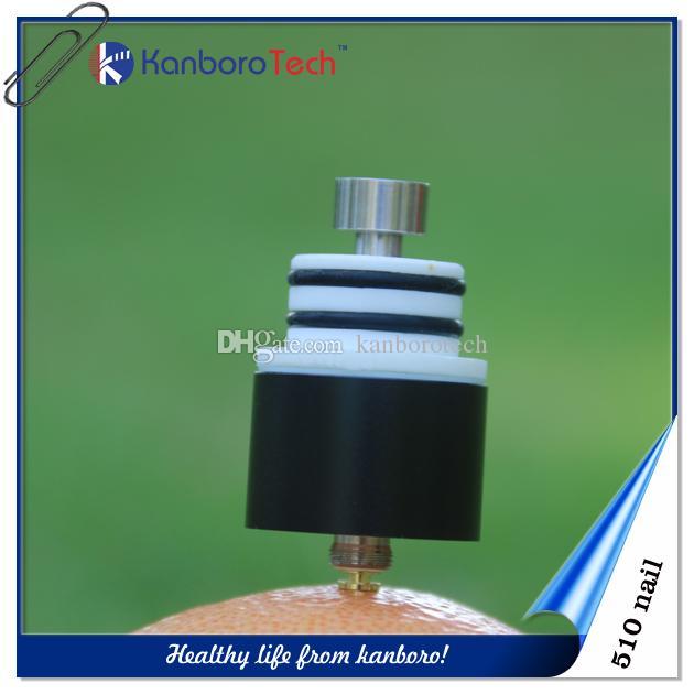Запатентованная Vaping Flat капельное наконечник 510 нить 510Nail Сменный Атомайзер для ногтей Vape Pen Испаритель E-сигареты с высоким качеством.