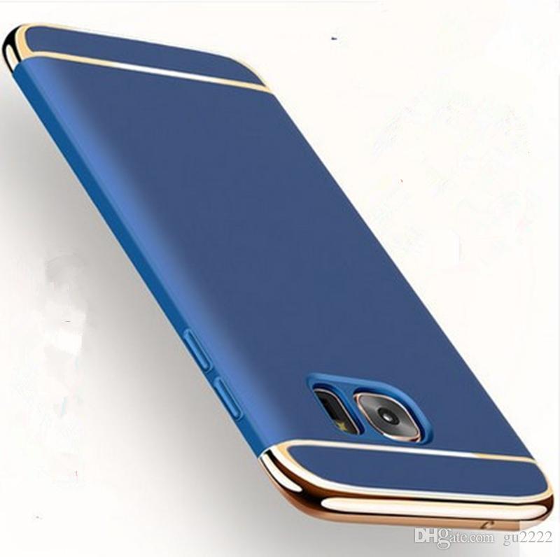 Capa Para Samsung Glaxy S9 S8 S8Plus Note8 Luxo removível 3 em 1 Telefone Voltar capa dura Coque para Galaxy S6 S7edge caso S7