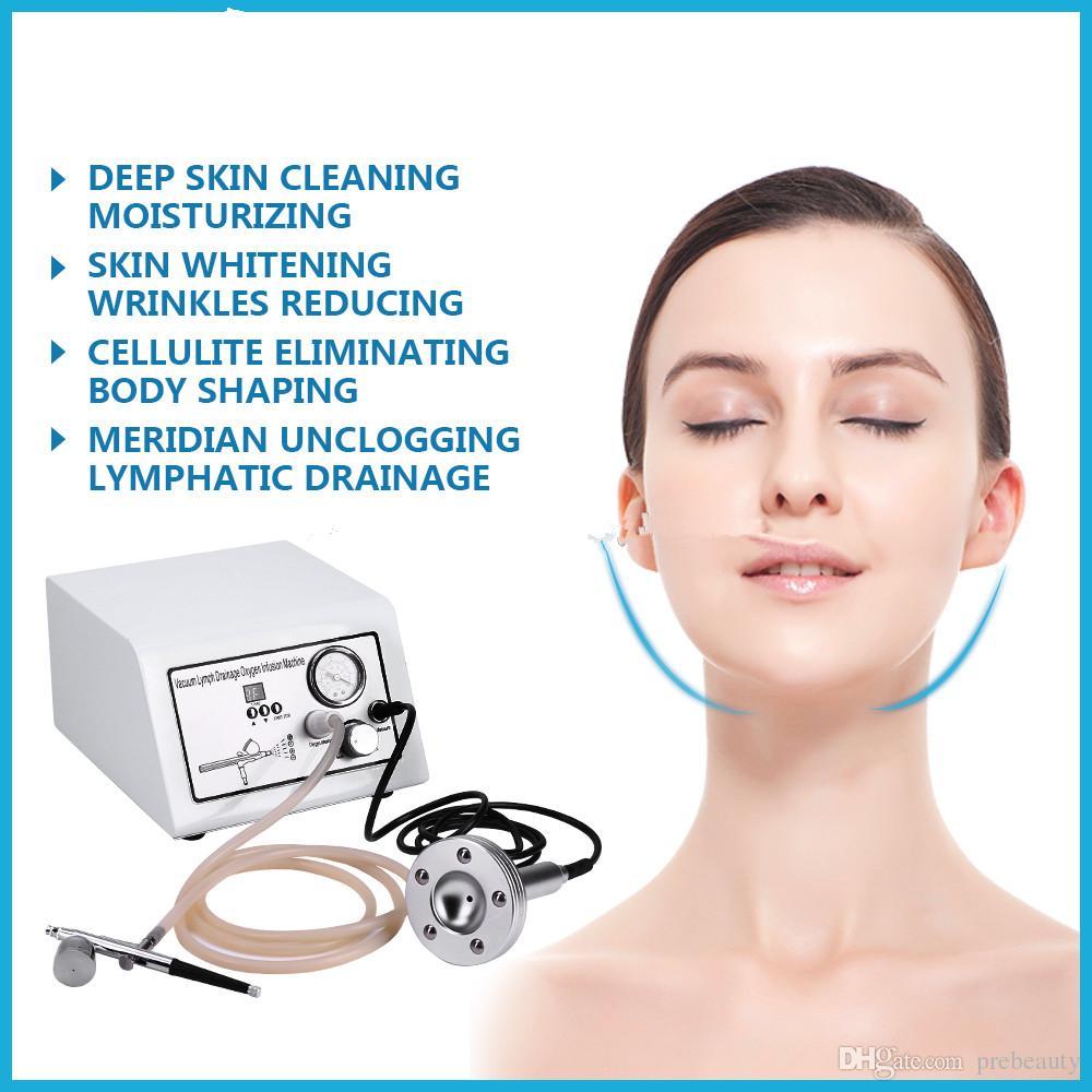 محمول ضخ الأكسجين الوجه العناية بالبشرة والجسم والتدليك اللمفاوي الجهاز الاسترخاء
