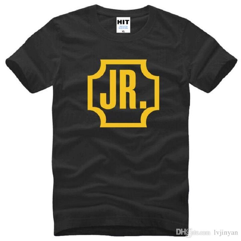 Novo Verão GOT7 JR T Shirts Homens de Algodão de Manga Curta O-pescoço Impresso Funs Jae Bum T-Shirt dos homens de Moda Masculina Banda de Música Top Tees