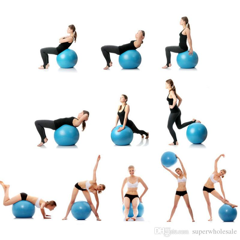 Exercise Ball Anti Burst Yoga Ball Balance Ball For Pilates Yoga Stability Training And Physical Therapy 45cm 95cm Size Fitness Balls Yoga Balls For Feet Yoga On A Ball From Superwholesale 9 22