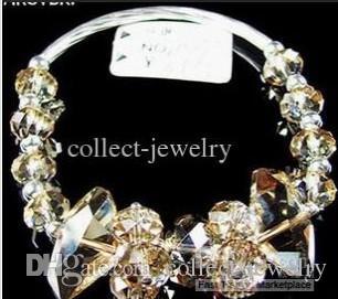 moda pulseira de cristal frete grátis