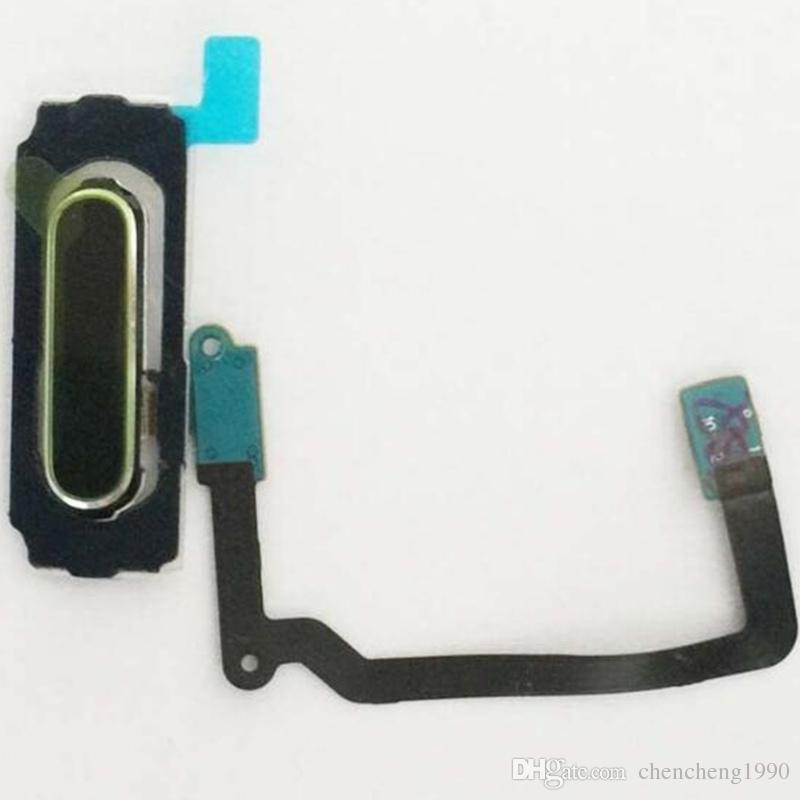 100 ٪ الأصلي جديد زر البداية مفتاح استشعار بصمة الكابلات المرنة لسامسونج غالاكسي S5 i9600 G900A G900V G900F