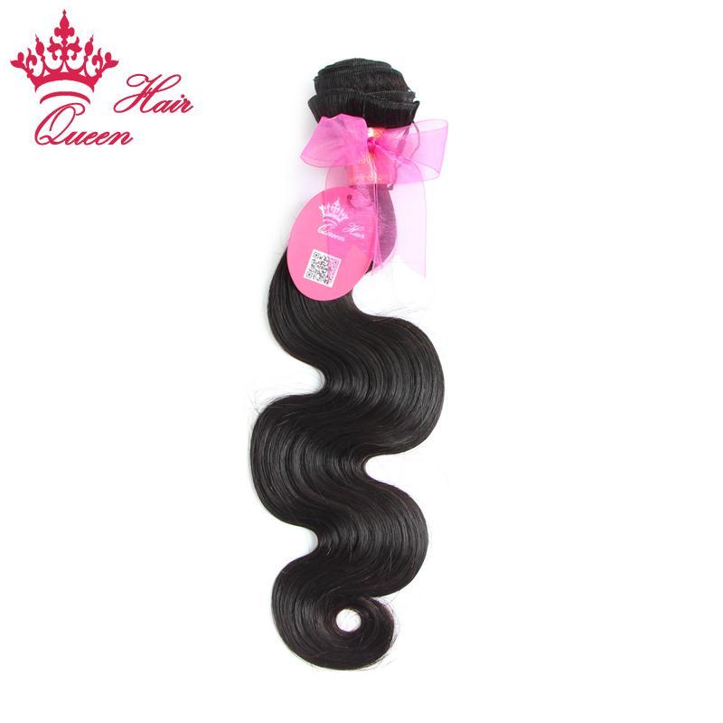 """Productos del pelo de la reina onda virginal brasileña del cuerpo del pelo humano, 1pcs / lot 8 """"-28"""" envío libre de DHL"""
