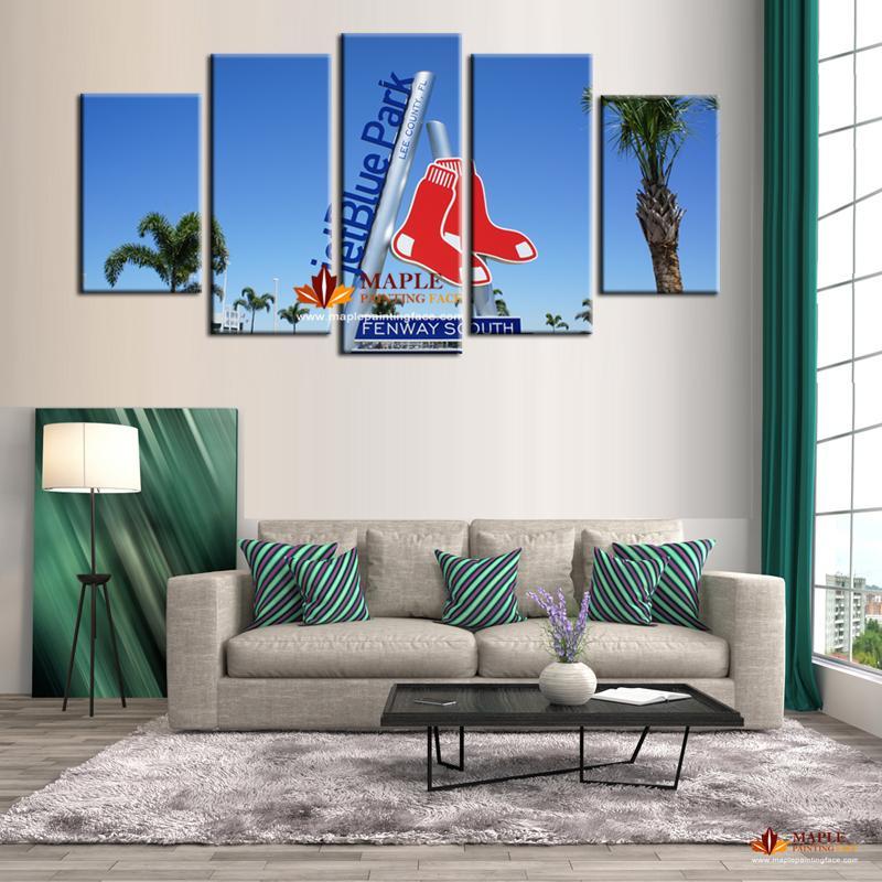 Großhandel 5 Stücke Moderne Wandkunst Leinwand Gedruckt Malerei Wandbilder  Für Wohnzimmer Große Moderne Abstrakte Dekoration Kein Rahmen Von ...