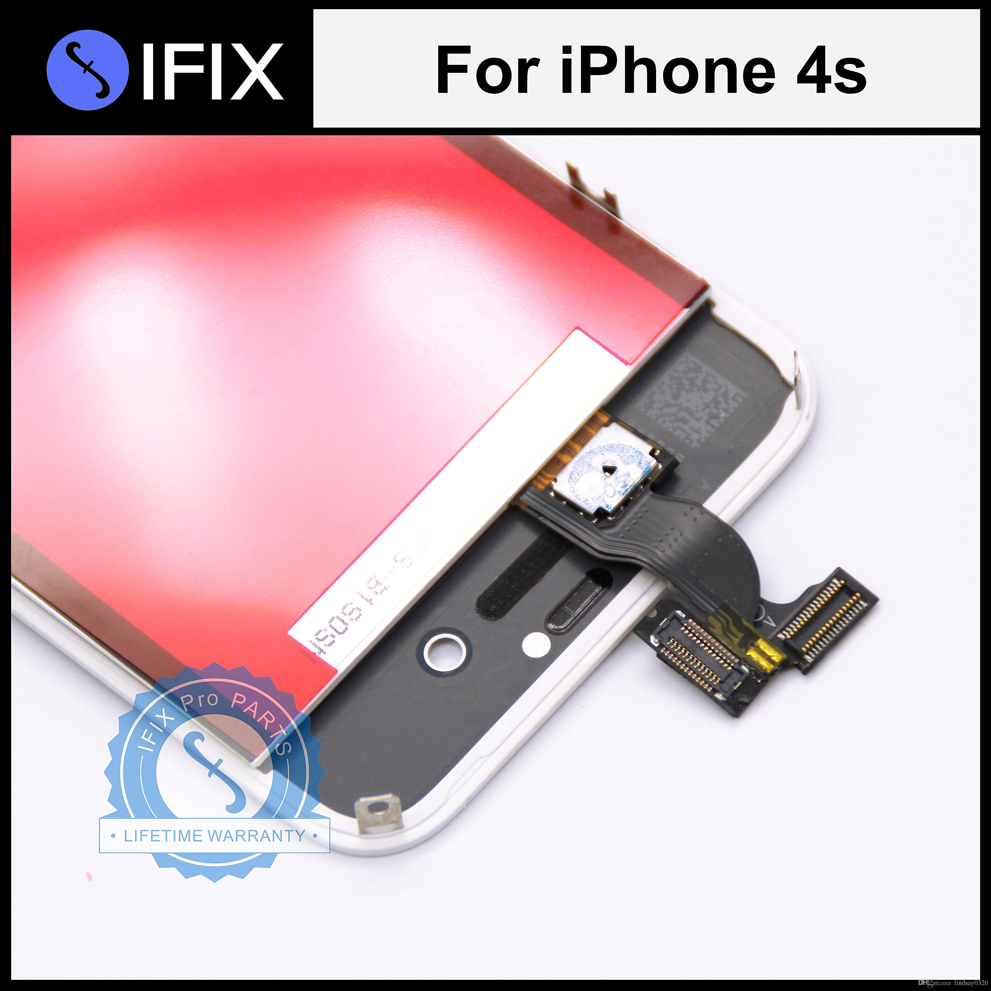 Best Test Passed For Iphone 4 4g 4s Lcd Touch Screen letely Display Digitizer Frame Full Set Assembly Under $10 71