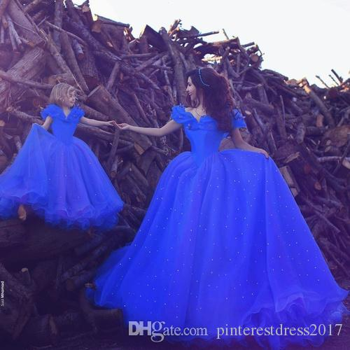 Sweet 16 Robes Cendrillon Quinceanera Robes avec Perles Perles Papillon pour Adulte Lace up Back Robe de 15 Anos