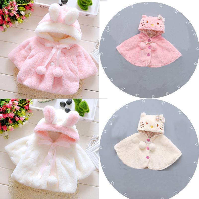 Regenponcho für Kinder Pink
